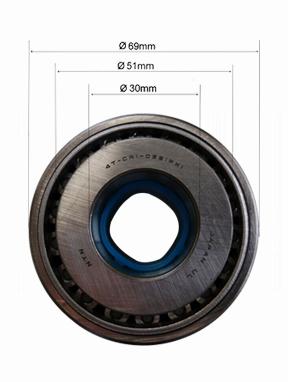 Bearing No.4T-CR1-0691 PX1